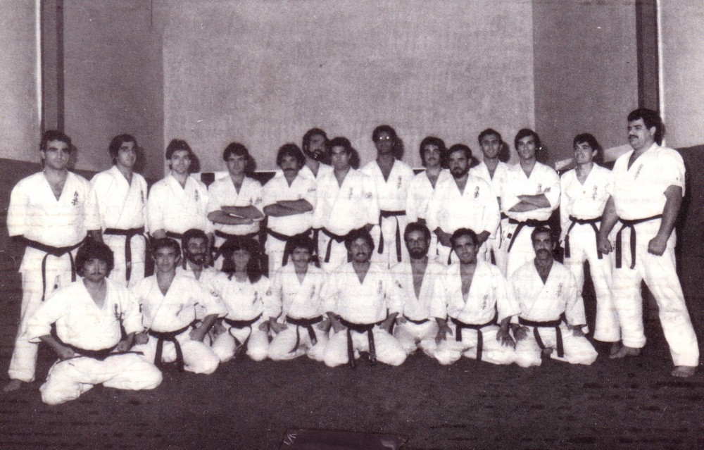 1983 Shihan Piñero, mi primer curso de Instructores