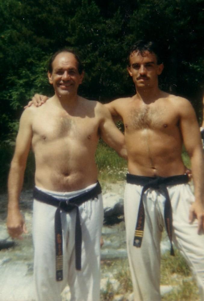 1988 Shihan Steve Arneil, mi mejor maestro