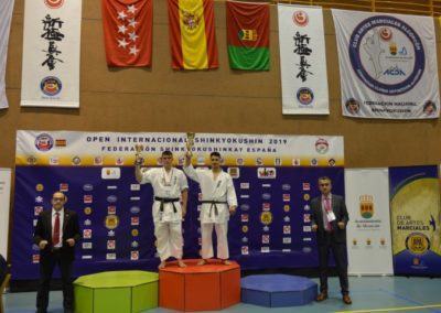 45 ABSOLUTO JUNIOR Masculino +80 Kg