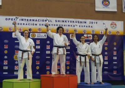 9 KATA SENIOR FEMENINA