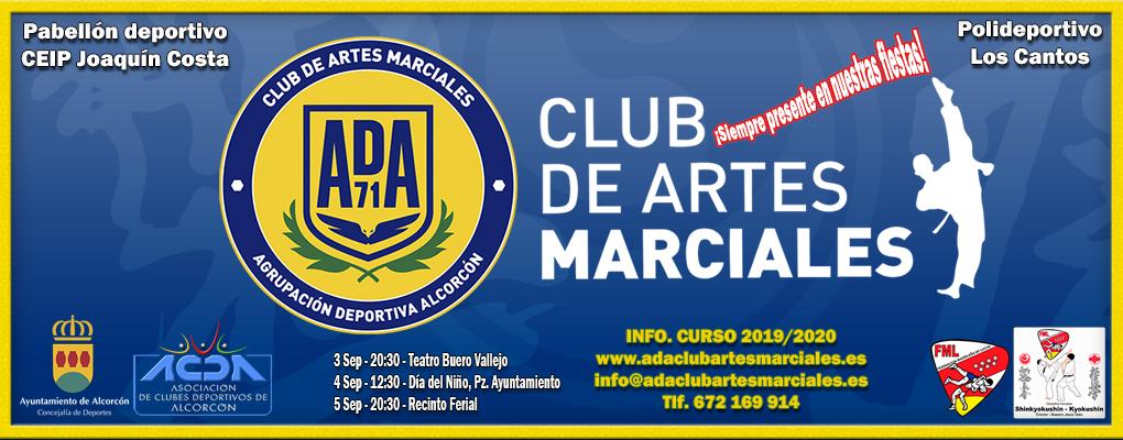 Ada Club Artes Marciales en Fiestas