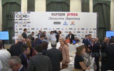 Desayunos Deportivos Europa Press